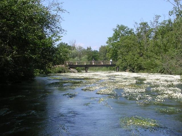 Brückenübergang